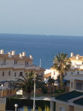 view from la mata holiday rental